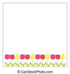 Greeting card with copy-space for your design