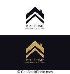 real estate logo design concept