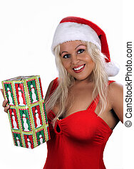 Sexy Blonde Santa\'s Helper (6)