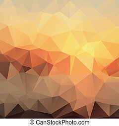 Bright Gradient Abstract Texture of Asymmetric Triangles.