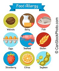 Nut allergy Illustrations and Stock Art. 276 Nut allergy ...