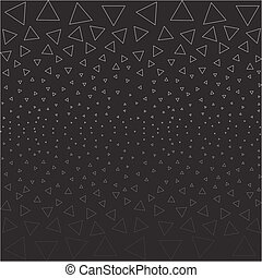 dark abstract background contour triangles