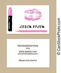 Lipstick - vector make up artist