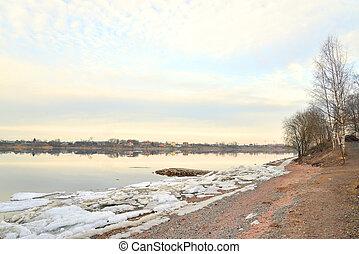 View of Neva River.