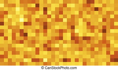 Abstract background with shiny mosaic. 3D rendering