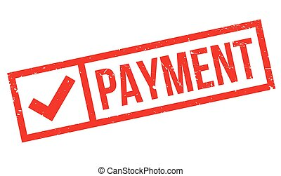 Payment rubber stamp