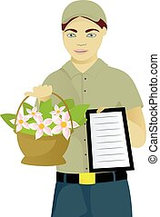 Flower courier