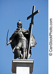 Sygmunt III Vasa - Statue of Zygmunt III Vasa at the top of...