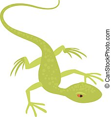 Little lizard icon, cartoon style - Little lizard icon....