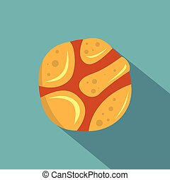 Spica icon, flat style - Spica icon. Flat illustration of...