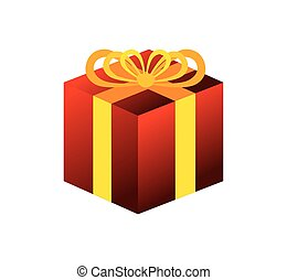giftbox present celebration icon vector illustration design