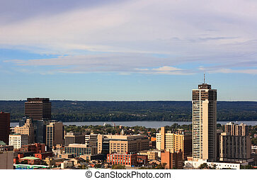 Hamilton central - Still Picture of downtown Hamilton,...