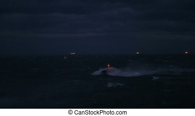 sailboat on a stormy night,part 3