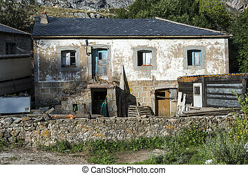 Old country house in Valle del Lago, one of fifteen parishes...
