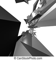 3D Renders - Abstract 3D render for whatever you like. Very...