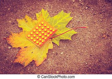 Vitamins c for autumn.