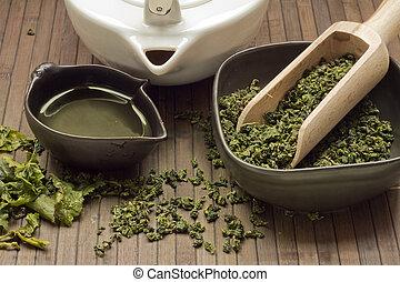zen tea setting