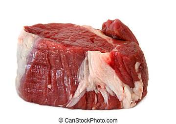 Filet Steak, Ready for Cooking - A piece of fresh choice...