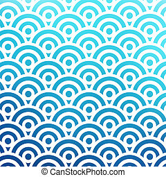 overlapping circles pattern