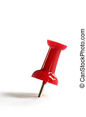 Red Push Pin