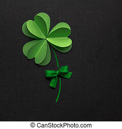 Good luck. - Creative St. Patricks Day concept photo of a...