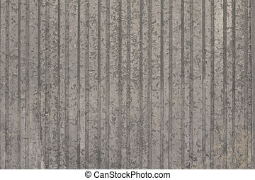 Texture of old galvanized sheet - Fence of old galvanized...