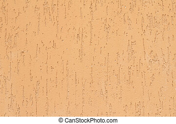 Texture of orange wall with plaster