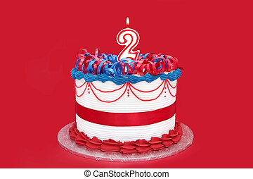 Number 2 Cake