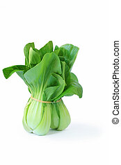 Bok Choy - Bunch of bok choy. Asian leafy green vegetable,...