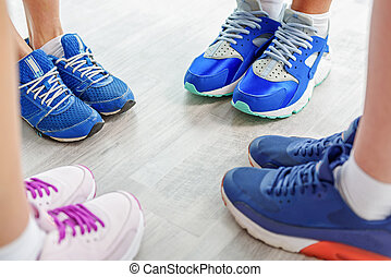 Different kinds of special sports equipment