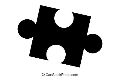 Pictogram - Puzzle, Jigsaw - Object, Icon, Symbol -...