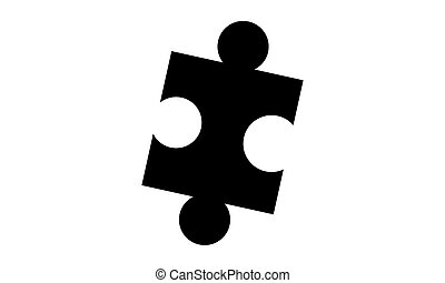 Pictogram - Puzzle, Jigsaw - Object, Icon, Symbol -...
