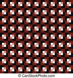 Squares seamless background - Alternating red and white...