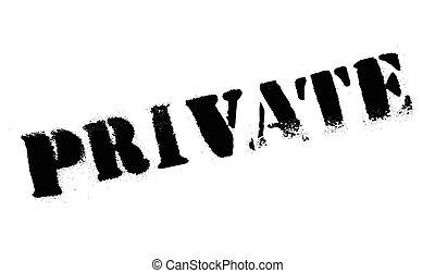 Private rubber stamp