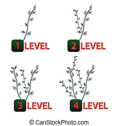 Growing tree levels