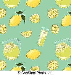 Colorful Summer Drink Background