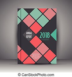 business annual report design - Modern design for a business...