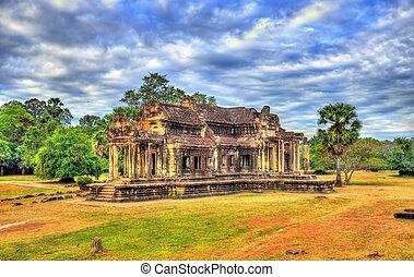 Ancient Library at Angkor Wat, Cambodia