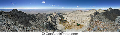 Little Bear Peak Summit Panorama - panorama from the summit...