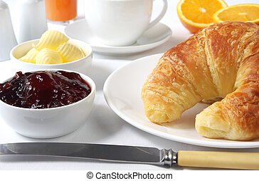 Continental Breakfast - Continental breakfast with...