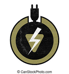 electric charge symbol