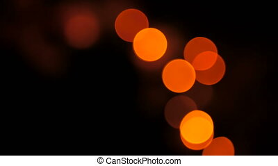 Christmas and new year bokeh background.