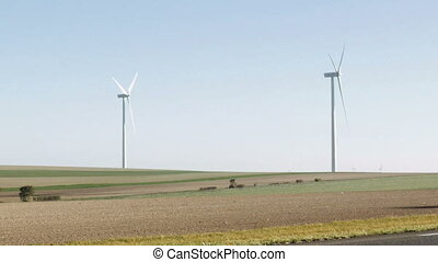 Wind turbines renewable energy generation - Wind turbines...