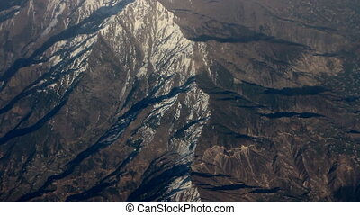 Spurs of Himalayas (Siwalik, Before Himalayas) in middle of...