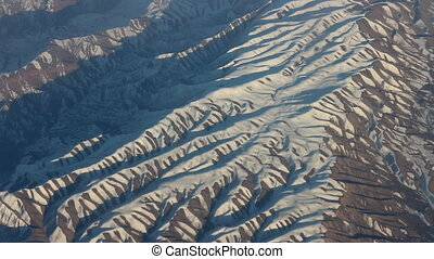Mountains painted like Zebra, Striped ridges. - Surprises of...
