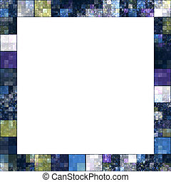 squares - An image of a nice frame of colored squares