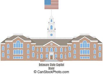 Delaware State Capitol in Dover, USA