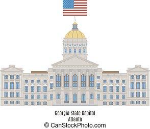 Georgia State Capitol, Atlanta - Georgia State Capitol, in...
