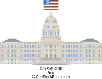 Idaho State Capitol, Boise - Idaho State Capitol in Boise,...