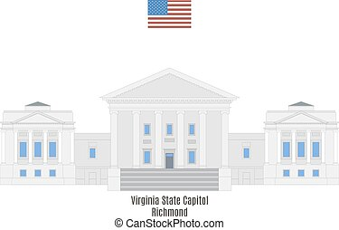 Virginia State Capitol, Richmond - Virginia State Capitol in...